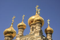 Russian Orthodox Church of Mary Magdalene on the Mount of Olives by Hanan Isachar