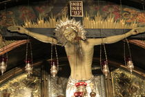 Golgotha, Calvary at the Church of the Holy Sepulchre