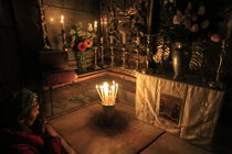 The chamber of the Holy Sepulchre von Hanan Isachar