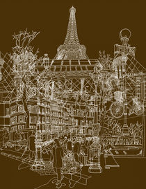 Paris! von David Bushell