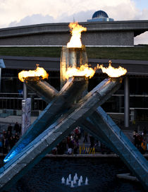 Olympic Torch by Ryan Rose