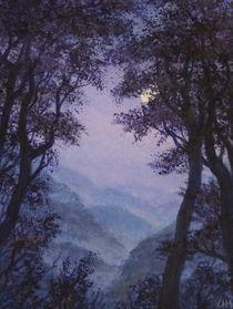 Innere Natur/ Blaue Nacht  von Ute Hegel