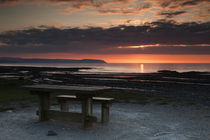 Picnic-table-sunset