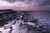 Kilve Beach at Dusk by Richard Winn