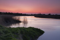 Volcanic-ash-affected-sunset-over-the-river-parrett