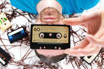 Retro-tape-portrait