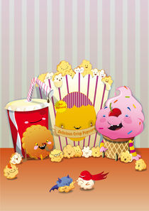 Popcorn cinema by bubblefriends *
