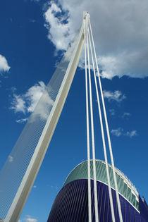 Valencia, Puente l'Assut und Ágora by Frank Rother