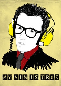 Elvis Costello by Tom Colmans