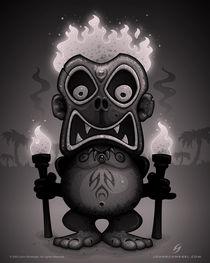 Tiki Munkee by John Schwegel