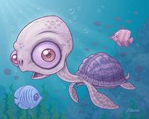 Sea Turtle von John Schwegel