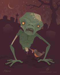 Sickly Zombie von John Schwegel