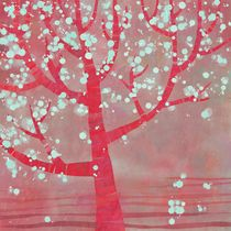 Blossoming Tree Lanscape by Nic Squirrell