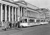 'Stuttgart: Straßenbahn auf dem Schloßplatz, 1978 ' by Landesmedienzentrum Baden-Württemberg
