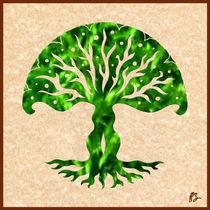 Viviana: Tree of Life Mandala by Peter Barreda