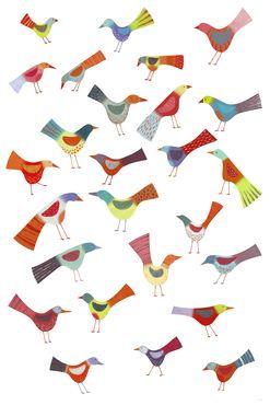 Birdsdoingbirdthings