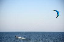 Wasserski-Lauf mit Drachen/Paraglider by Markus Dick