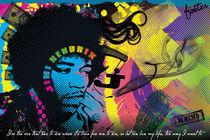 Jimi Hendrix von Christian Archibold
