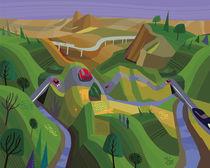 Bajando a Ensenada von Charles Harker
