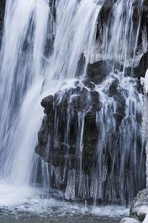 frozen waterfall  by Darius Norvilas