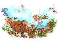 Märchen - Eine kleine Meerjungfrau von Katja Kiefer