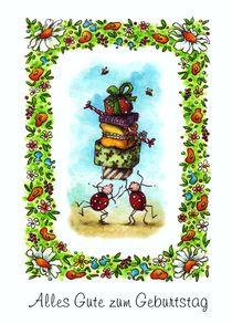 Ein Turm aus Geschenken von Katja Kiefer