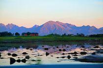 Midnight sun Lofoten and Vesteraalen by Bente Haarstad
