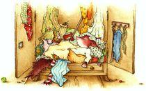 Tierkinder - Das Eichhörnchen schläft by Katja Kiefer