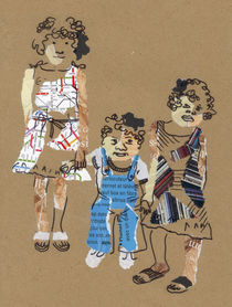 Little family (Petite famille) by Anastassia Elias