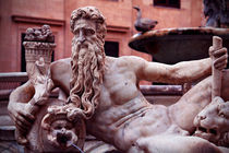 Sculpture, piazza Pretoria fountain by Andrey Lavrov