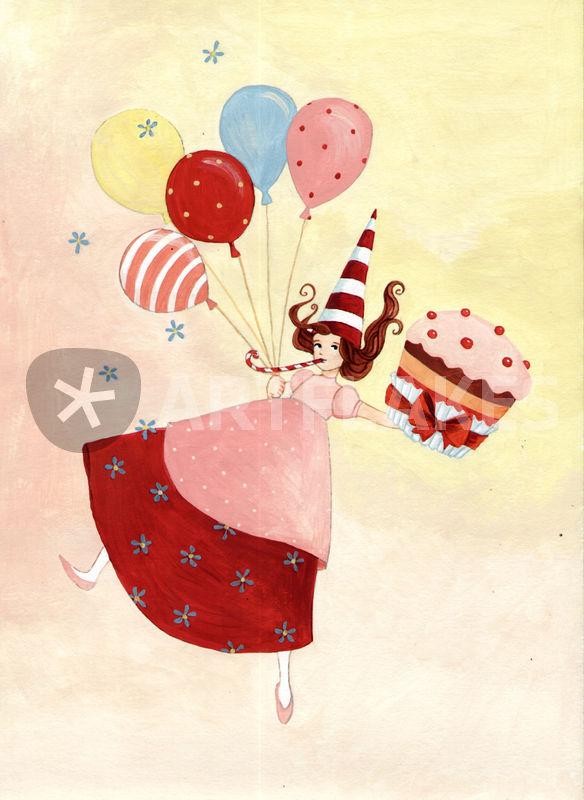 """happy birthday"" graphicillustration art prints and"
