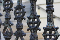 Iron fence by ushkaphotography
