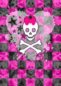 Princess Skull by Roseanne Jones
