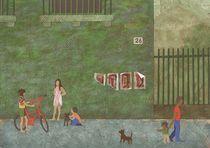 Street (Rue) von Anastassia Elias
