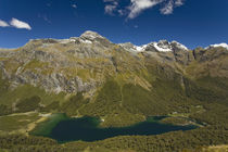 Lake Mackenzie on the Routeburn Track von Ross Curtis