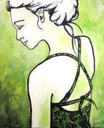 grüne Frau von Carmen Hochmann