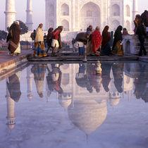 Morning Taj Mahal, India by Eugene Zhulkov