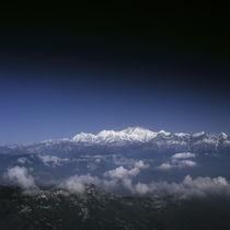 Himalaya mountains, India von Eugene Zhulkov