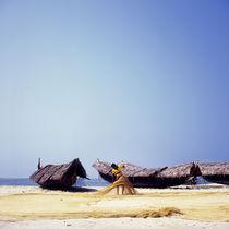Fisherman's boats, India