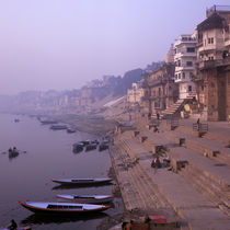 Ganges river, India by Eugene Zhulkov
