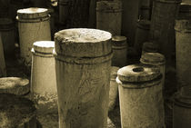Keramikos Cemetary in Athens  von Erik Schmitt