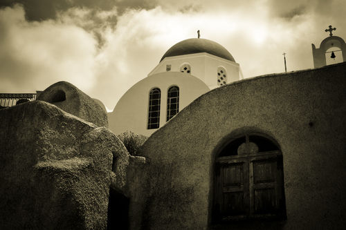Greece-santorini-church