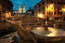 Piazza di Spagna at Dawn von Richard Susanto