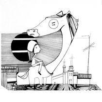 Das Mädchen und ihr Knopfpferd by Eva Vasari