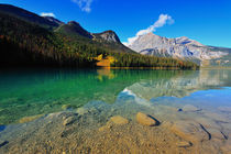 Emerald Lake, Alberta, Canadian Rockies  by Peerakit Jirachetthakun