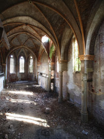 church in decay by Nils Eisfeld