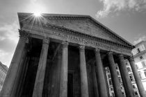 The Sun Shining above the Pantheon by Richard Susanto