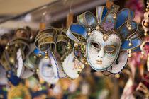 Venetian Masks by Richard Susanto