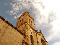 Church top in clouds von Darko Dukaric