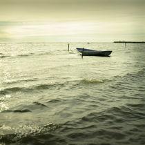 Seaside boat by Eugene Zhulkov